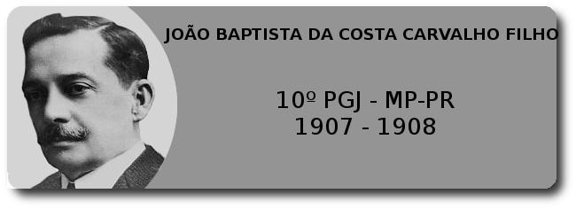 João Baptista da Costa Carvalho Filho - 10º