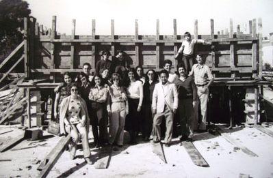 Fundação do edifício, 1980.